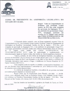 2009 - Luiz fernando Doc Assembleita CE
